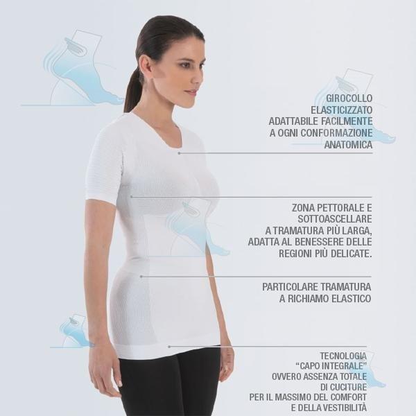 Maglietta posturale donna