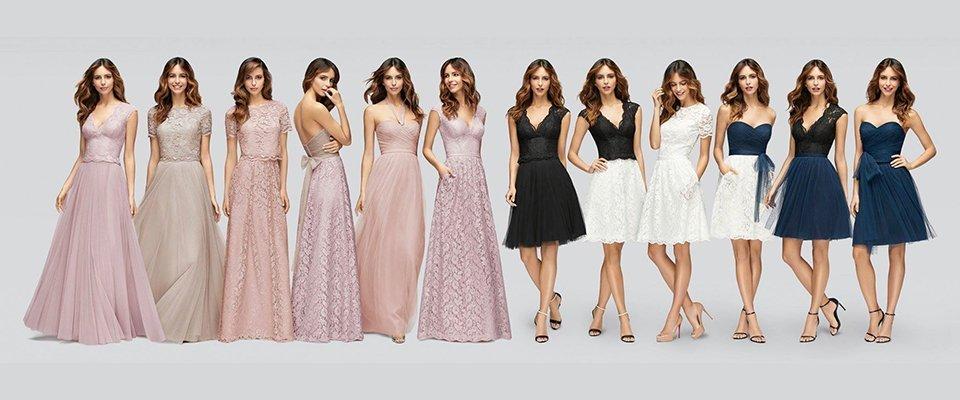 a wide range of bridal wear