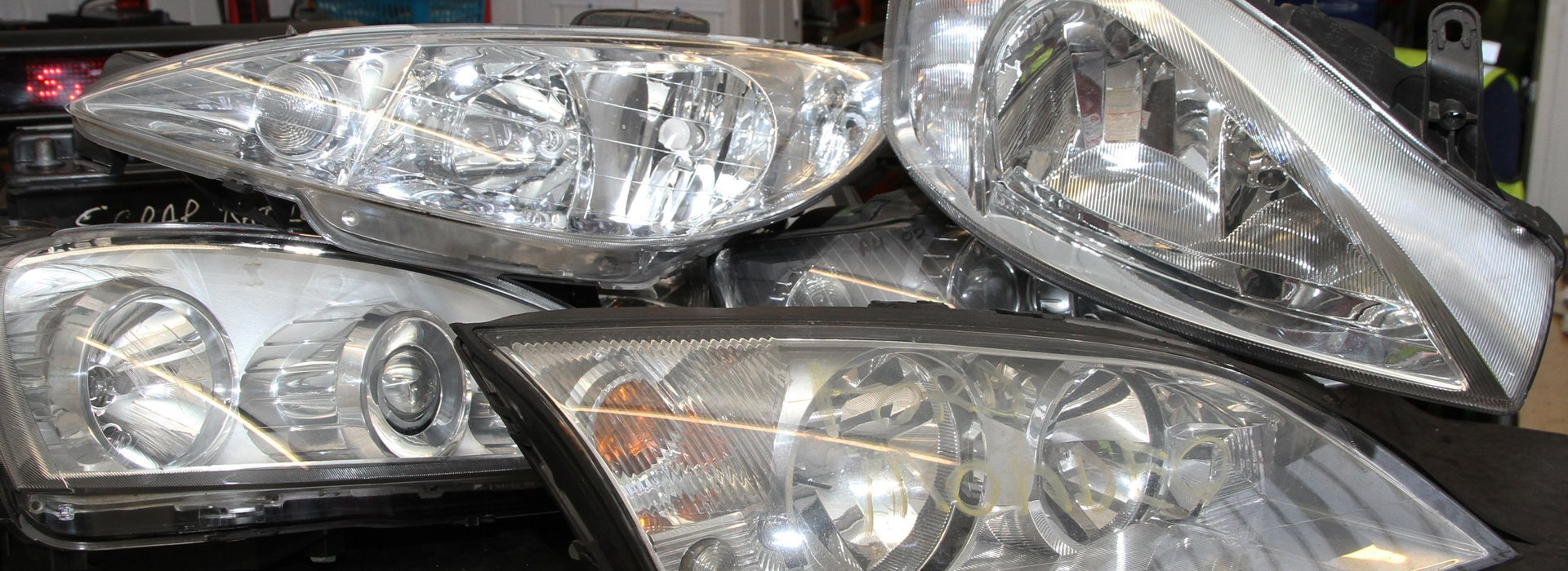 car headlights scrapped