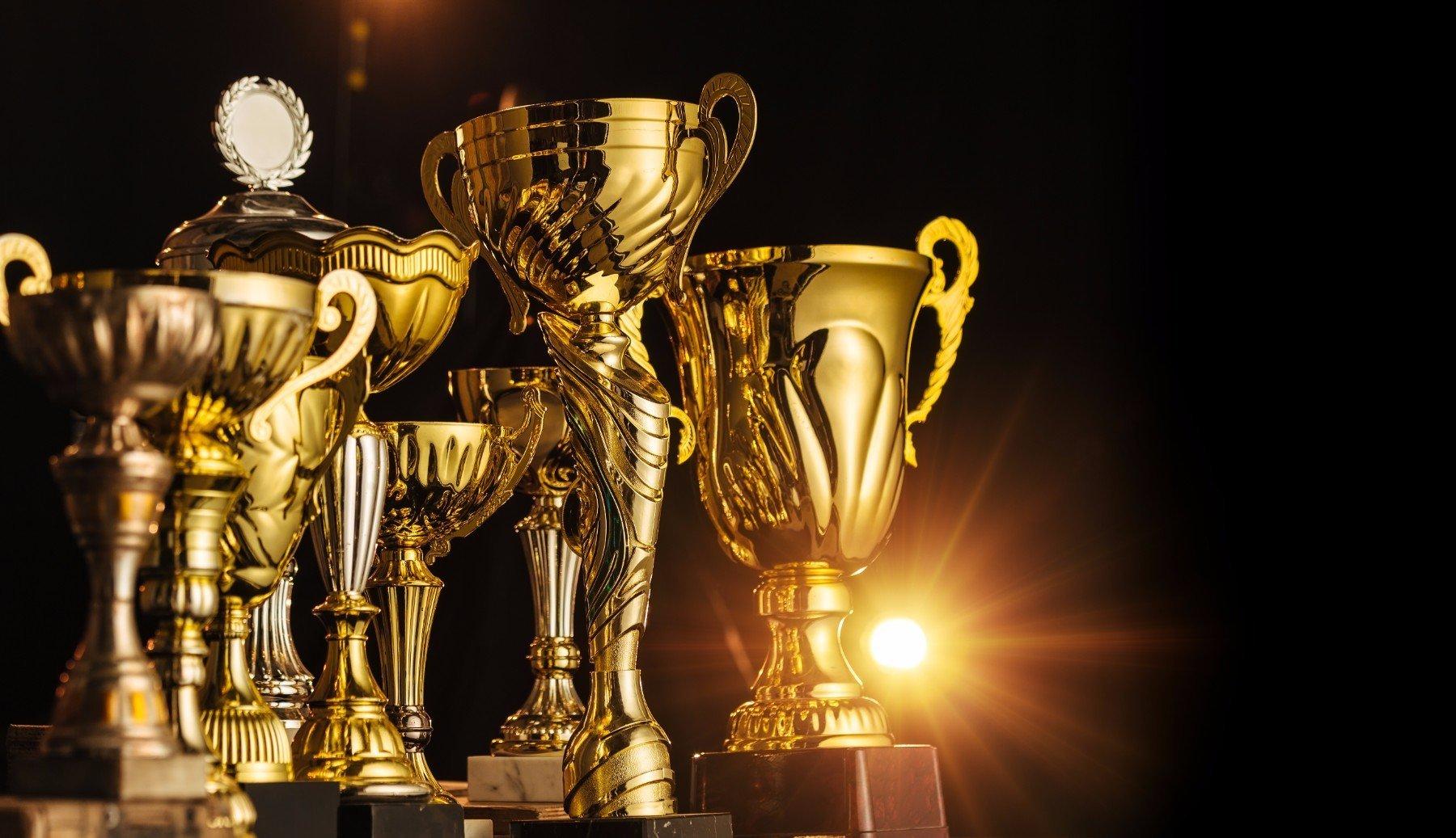 dei trofei dorati
