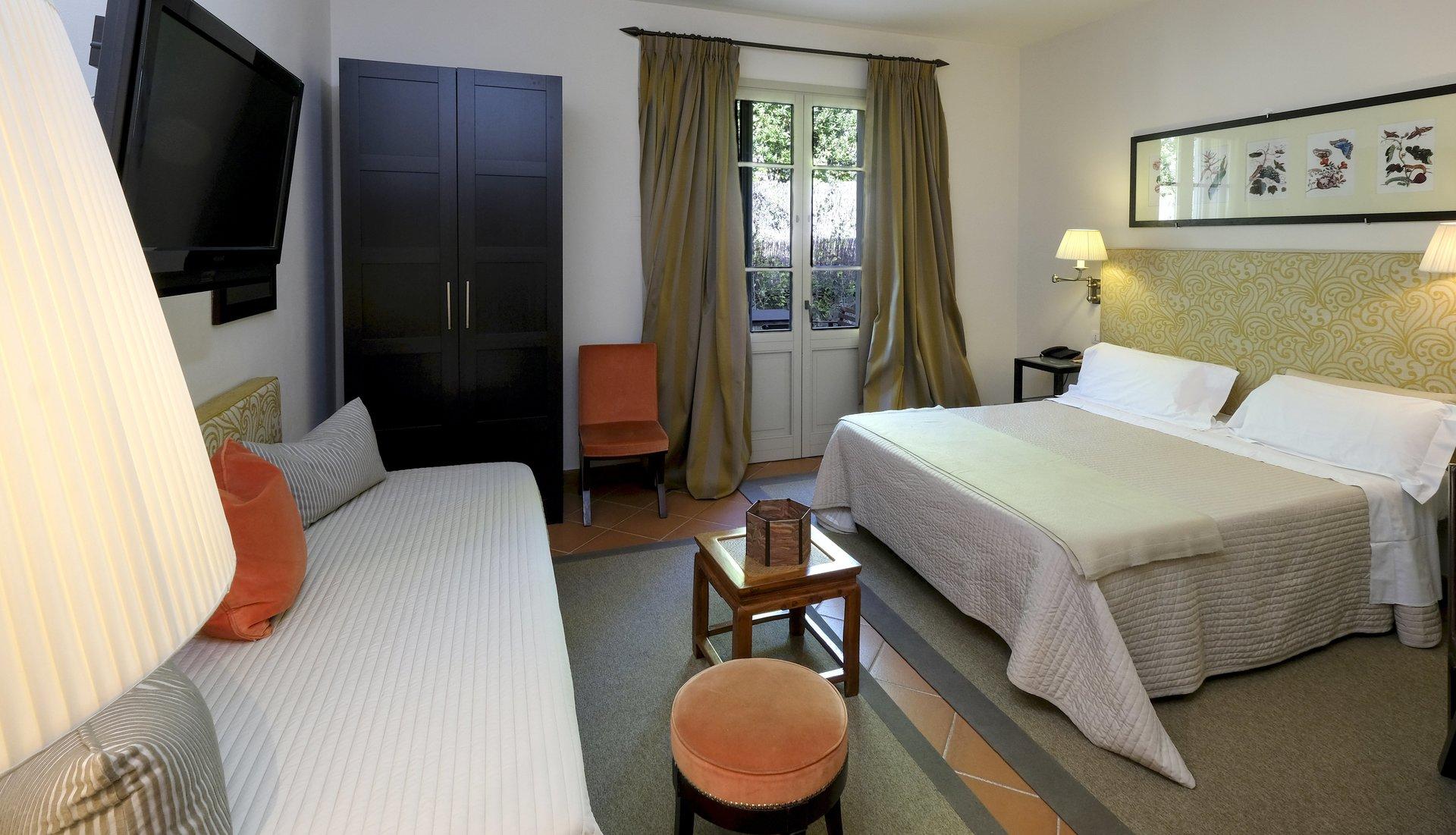 camera per notte romantica
