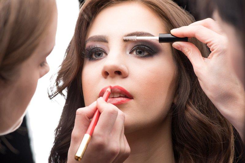 sistemazione make-up