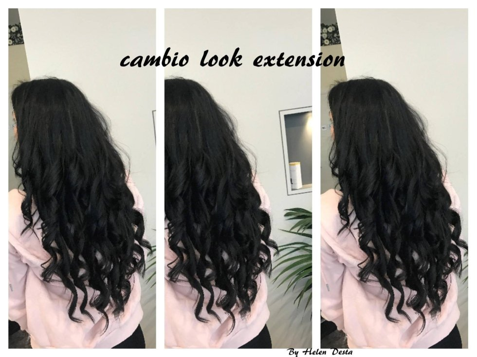 Capelli lisci-cambio look extension