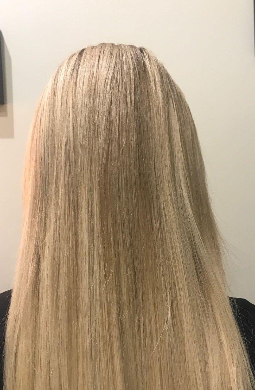 extensions capelli naturali-vista frontale