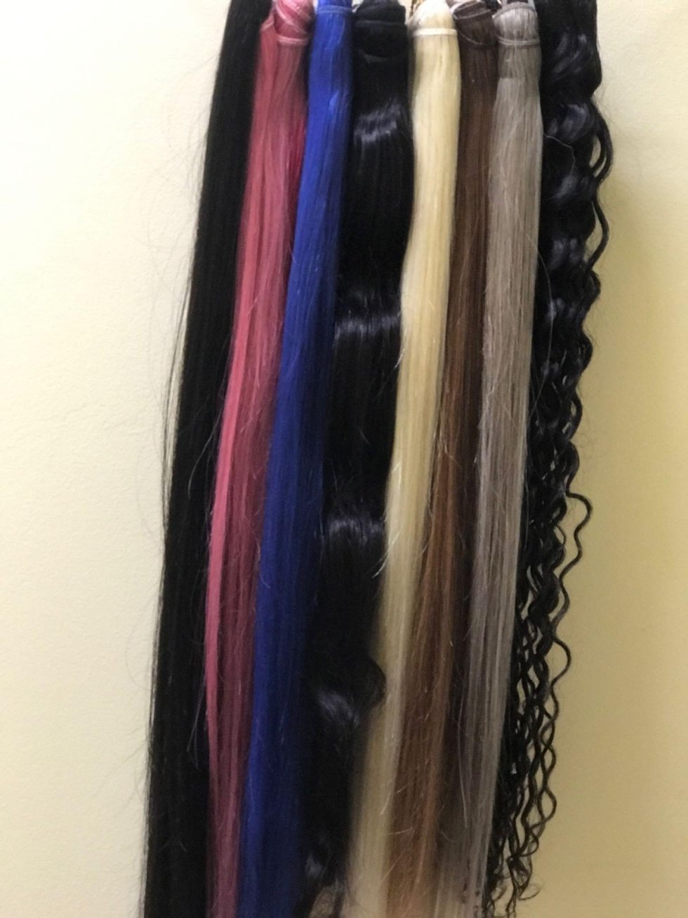 extensions vibrant colorate