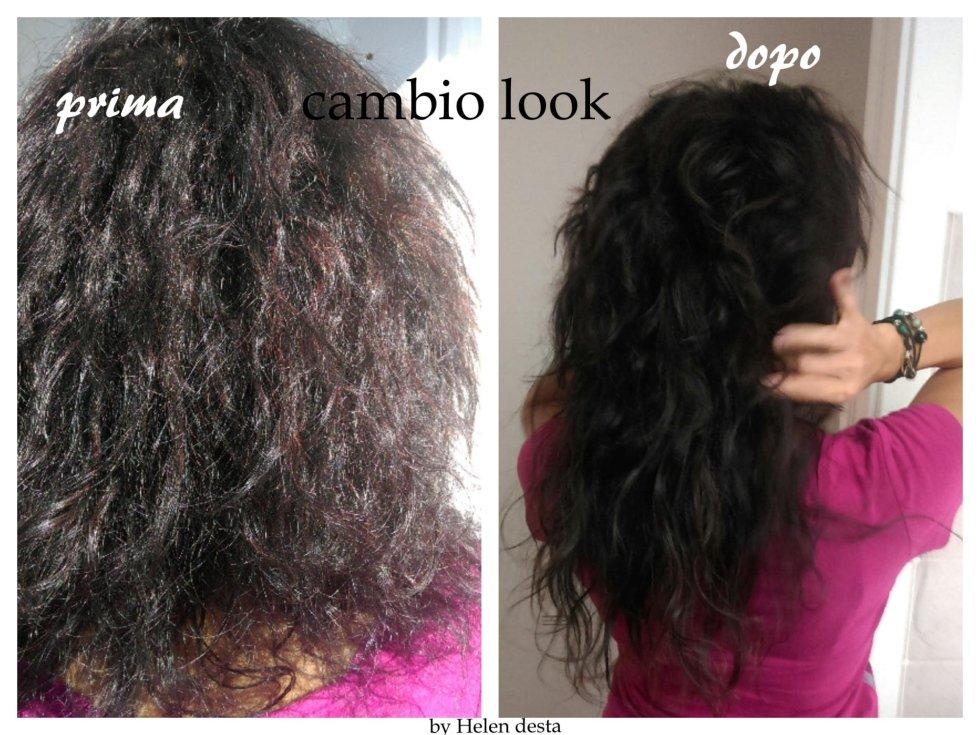 cambio look sistemazioni capelli ricci