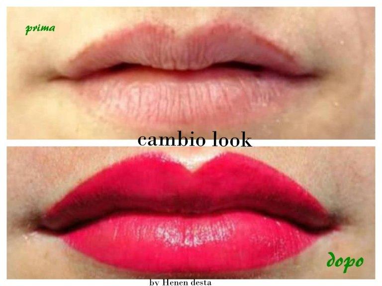 trucco permanente labbra Contorno con riempimento rossetto