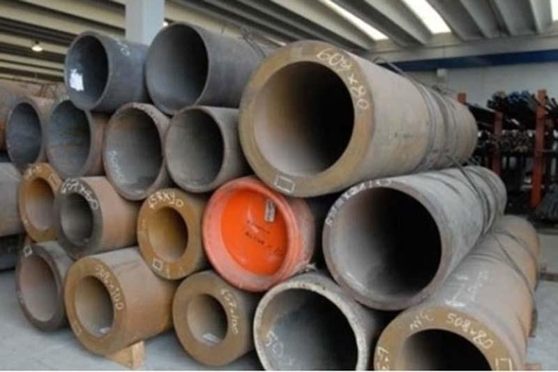 thick pipes