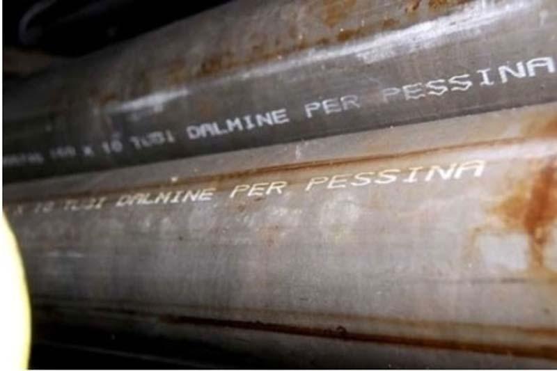 Pessina tubi distribution