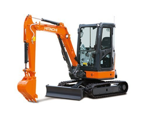 mini excavators hitachi zx33u