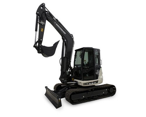 mini excavators plant and equipment Eurocomach ES85ZT Mini Excavator