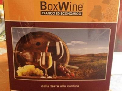 Box vino