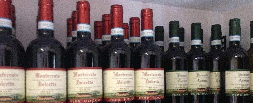 Vino rosso Novara