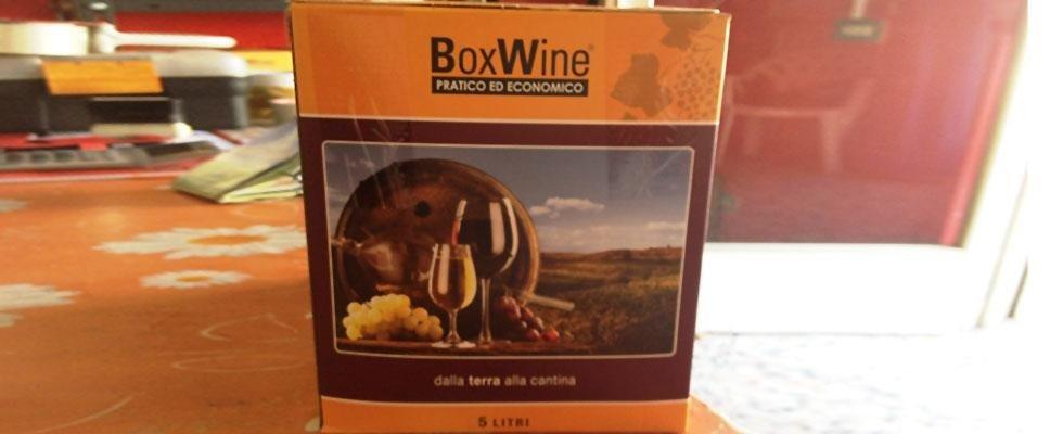 Box vino Novara