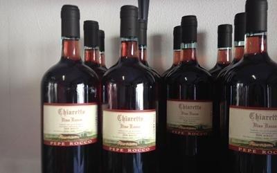 Enoteca vino chiaretto