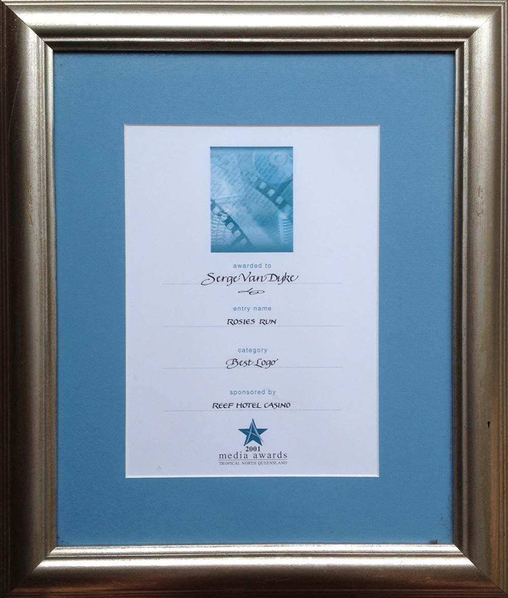 2001 award