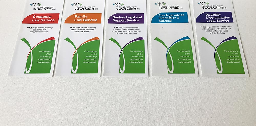 legal centre brochures
