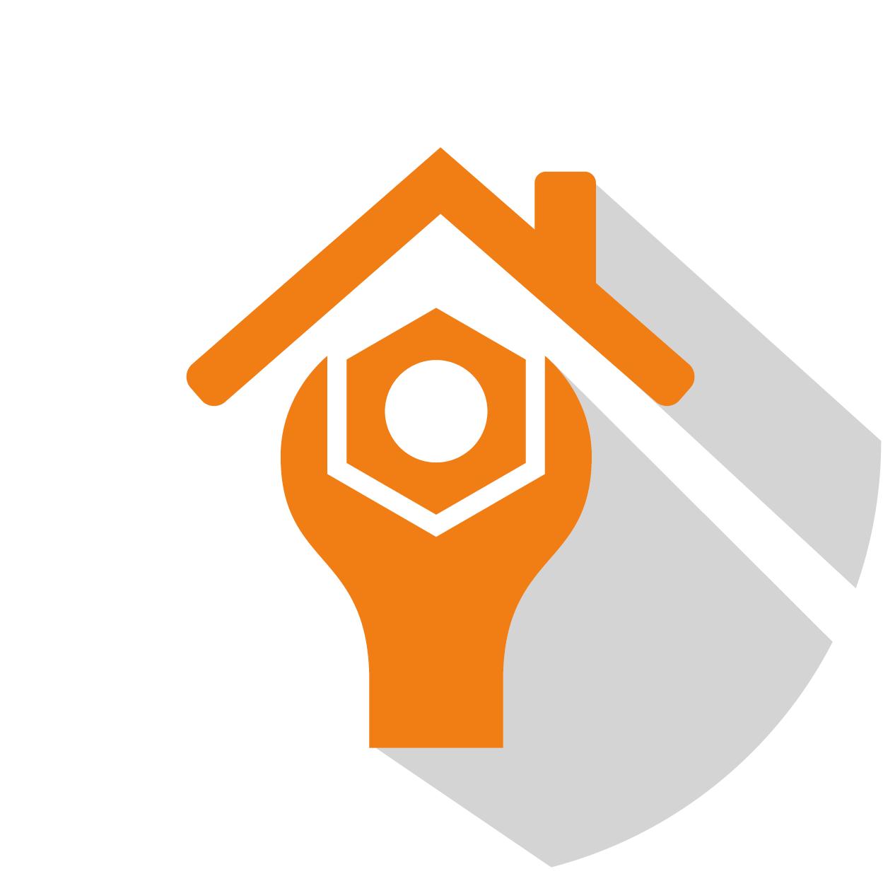 Roof repair icon