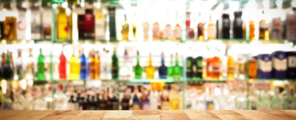 vendita liquori e analcolici