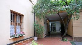 Giardino di un appartamento del residence