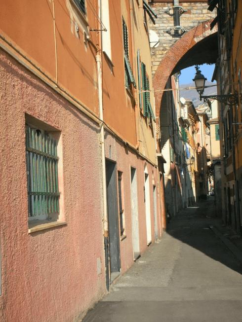 Panoramica di Genova Nervi
