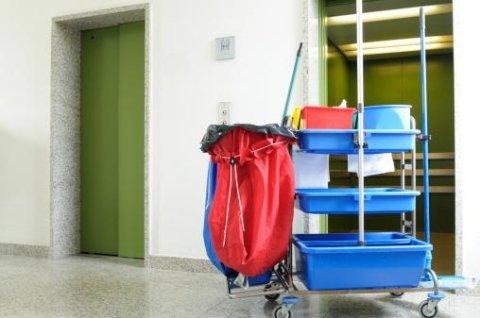 attrezzature professionali per pulizia