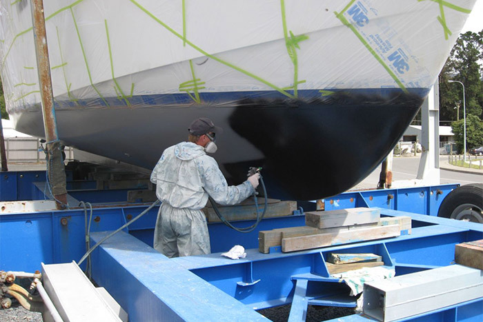 boat painting services in Havelock, Marlborough