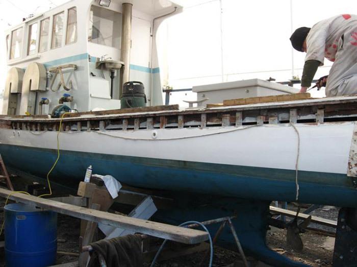 Restoring a boat