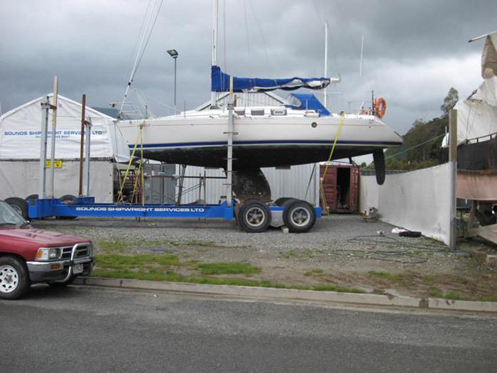 Boat repairs and painting in Havelock, Marlborough