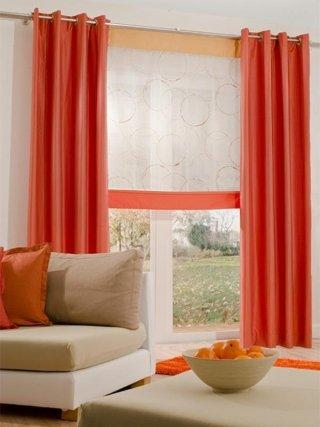 tenda borchiata arancione