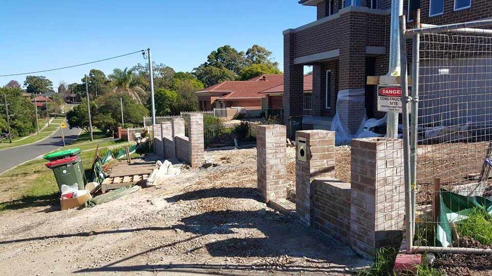 brick outline