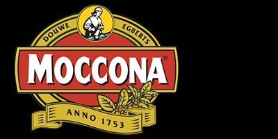 white and one coffee supplies moccona logo