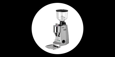 white and one coffee supplies mazzer major electronic