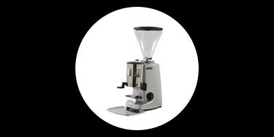 white and one coffee supplies mazzer super jolly automatic
