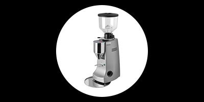 white and one coffee supplies mazzer robur electronic