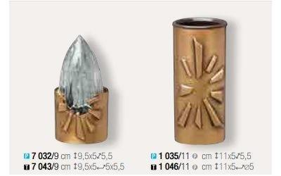 contenitori lapidi bronzo
