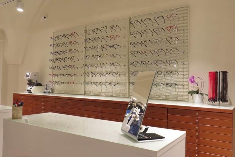 assortimento occhiali da vista
