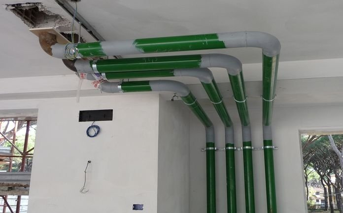 Impianti gas Villa Giulia