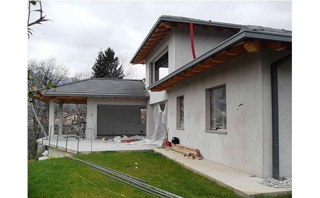 Realizzazione nuova villa.