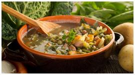 zuppa verdure