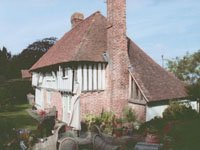 Grade 11 Listed Hall House, Kent Building survey for purchaser and subsequent valuation for insurance purposes