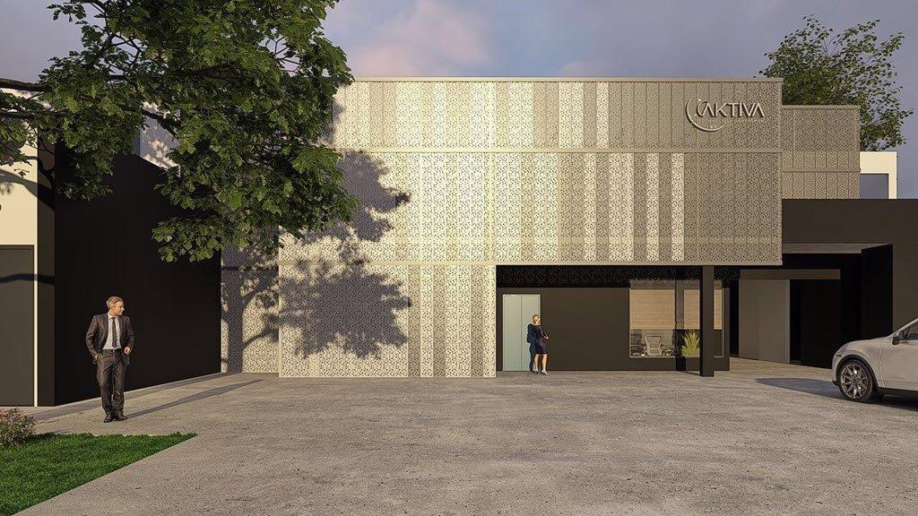 Rolformados cerramientos arquitectonicos puertas acceso - Amutio y bernal arquitectos ...
