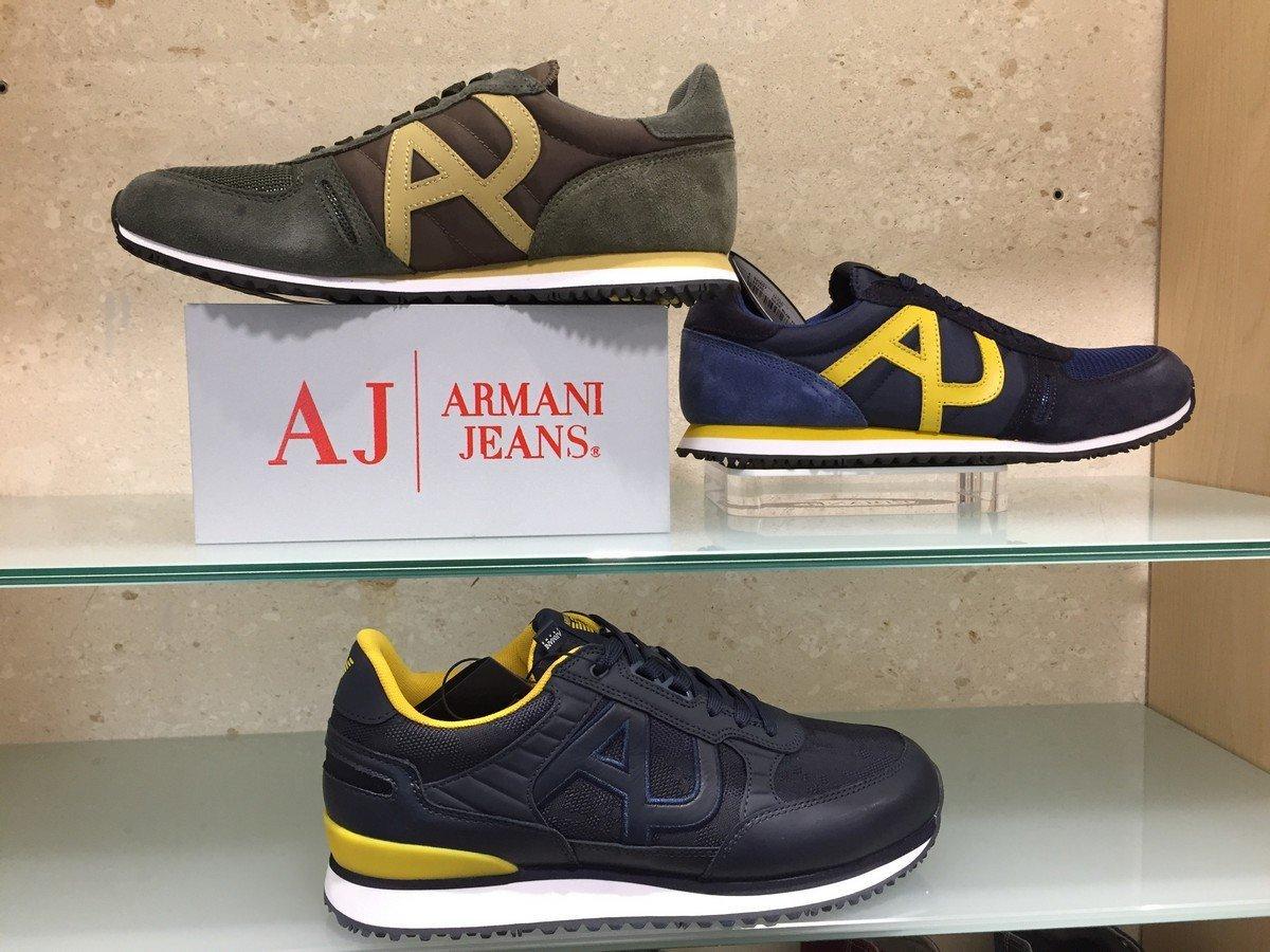 armani jeans scarpe uomo