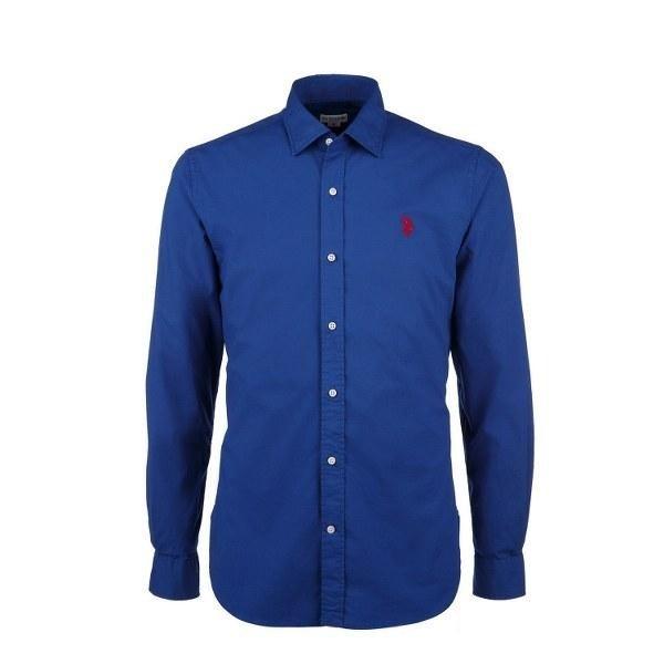 Camicia blu U.S. Polo