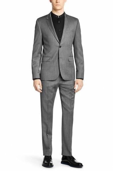 Completo grigio chiaro Hugo Boss