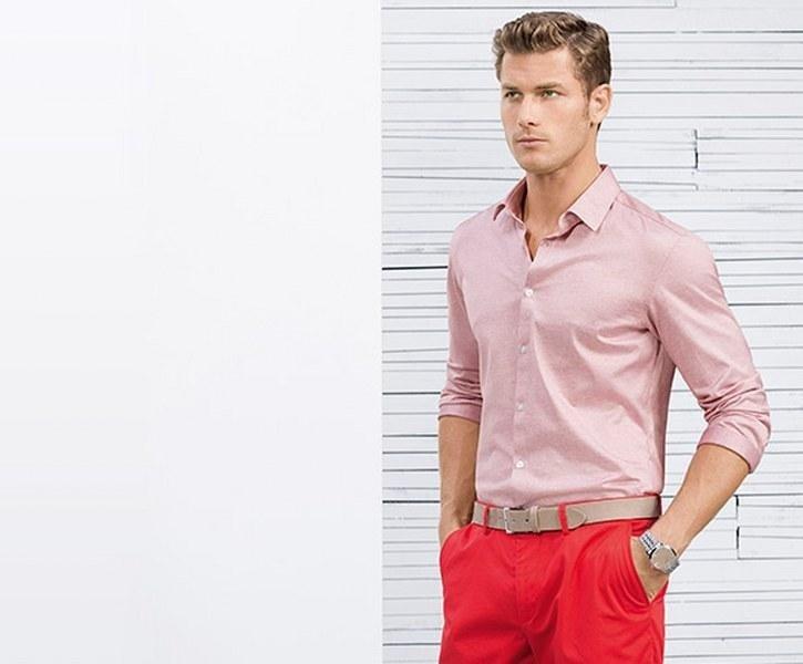 Camicia casual Hugo Boss