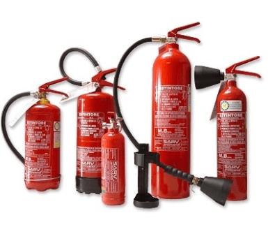 fornitura estintori, articoli antincendio, vendita estintori