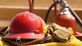 elmetti, antincendio, attrezzatura antinfortunistica