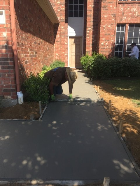 Concrete Services in Bedford Texas