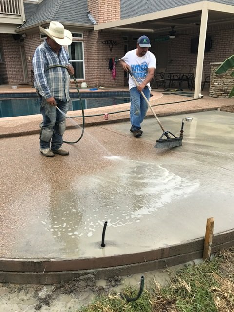 Concrete Services in Mansfield Texas
